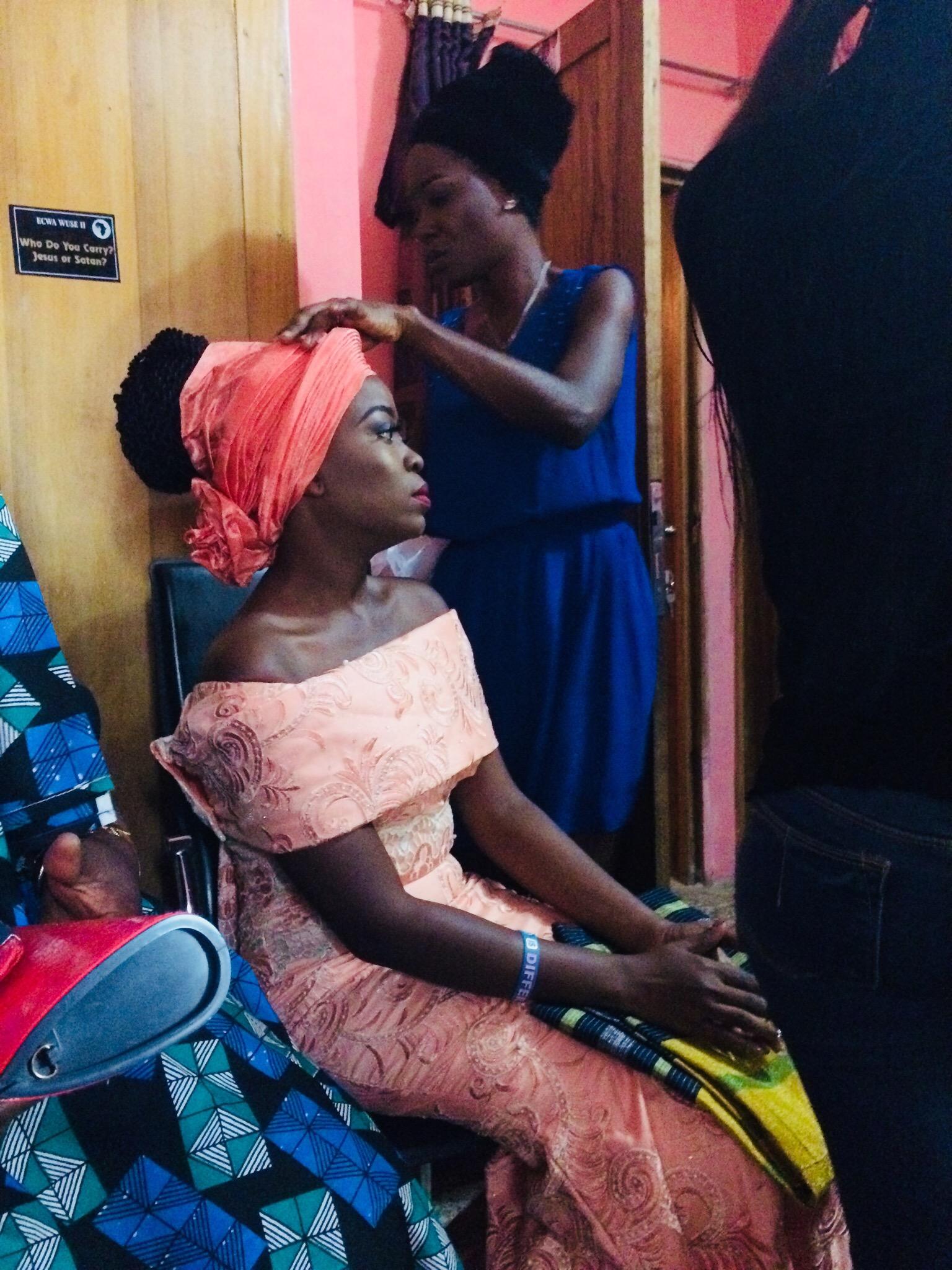 The bride's Sister: Uyo Deborah