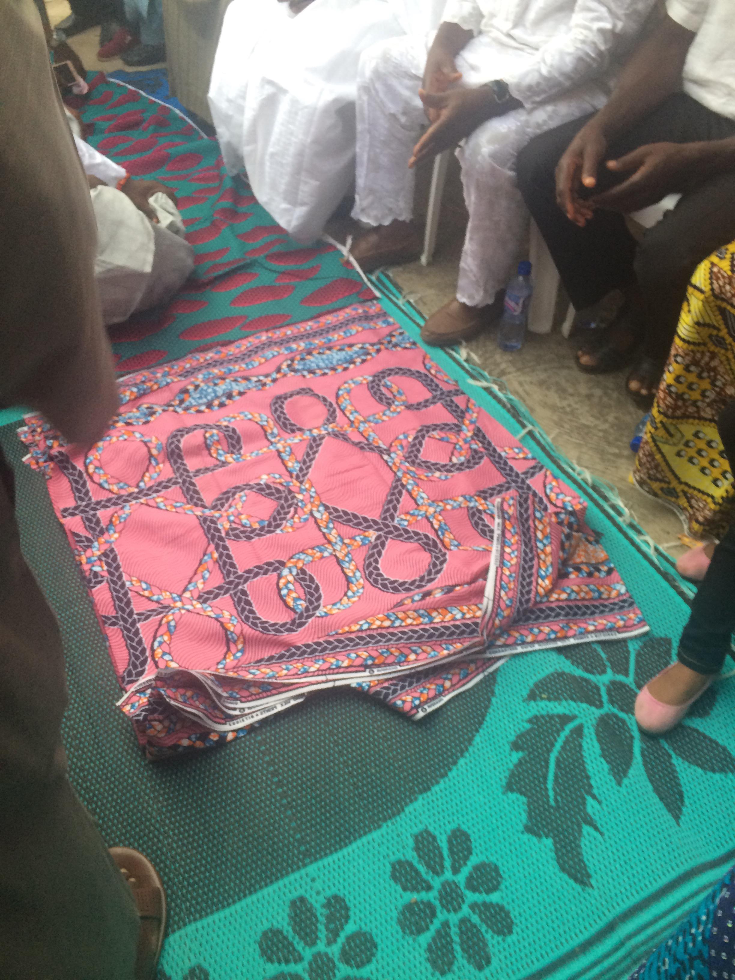 Traditional igala wedding