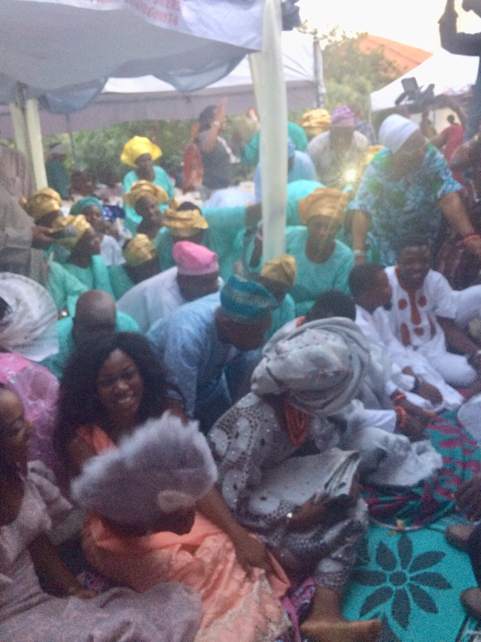 Dobaleing of the Yoruba people