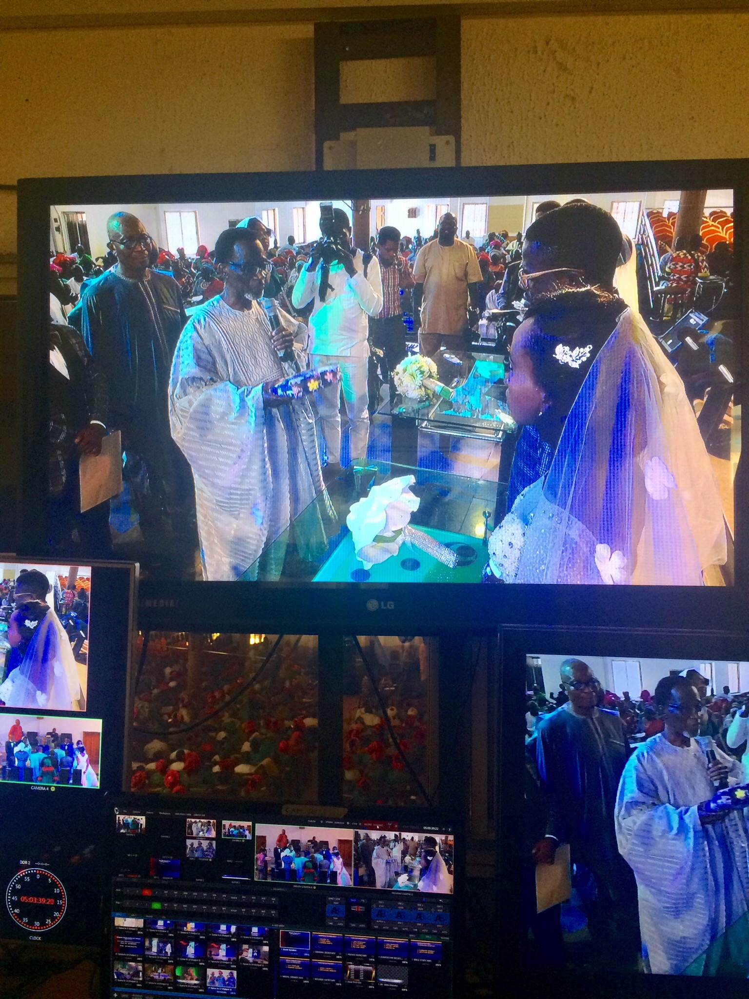 Wedding at ECWA Wuse 2 Abuja
