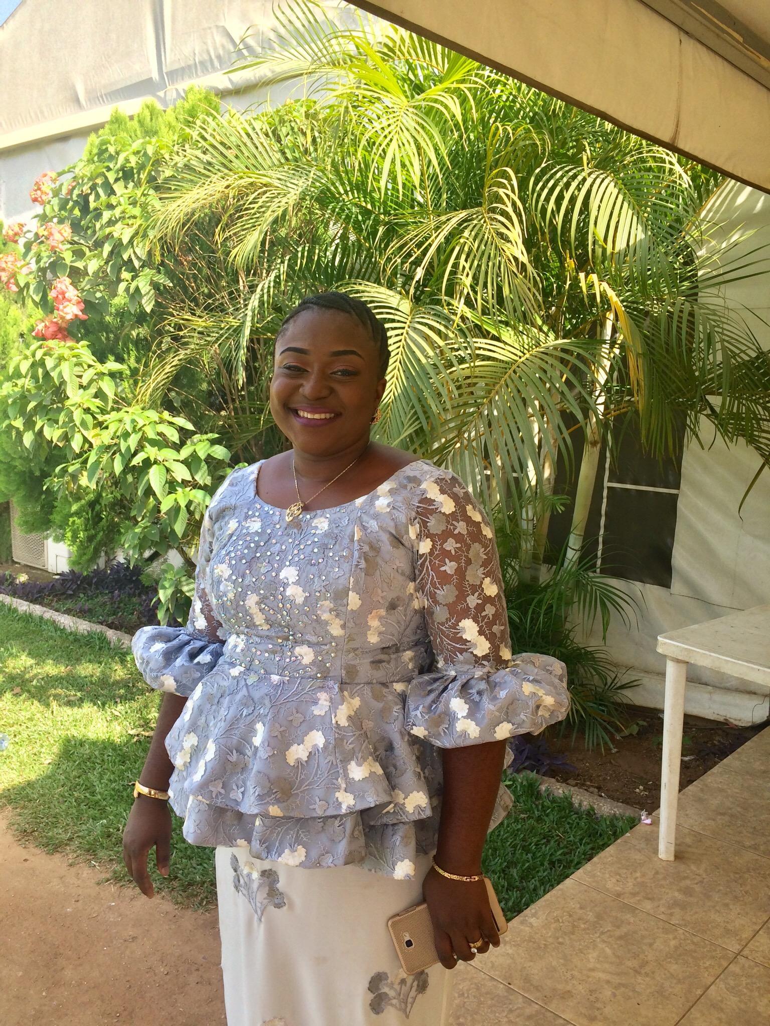 My elder sister Loretta Omoya